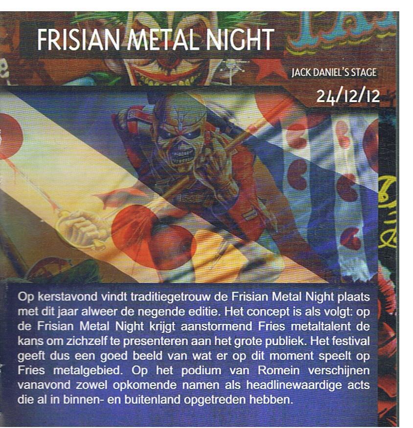 Frisian Metal Night
